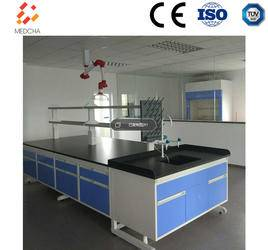 Center bench Laboratory furniture microbiology laboratory equipment