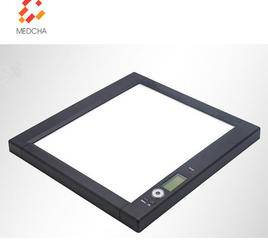 Single LED backlit high brightness medical film viewer