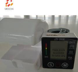 Electric digital wrist BP monitor