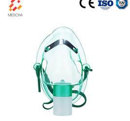 Disposable transparent facial oxygen mask