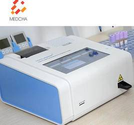 Health blood analyzer machine