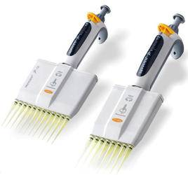 Multichannel Volume channel Micropipettes